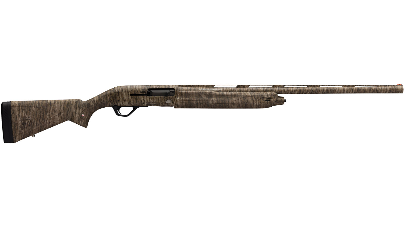 Winchester Guns 511212292 SX4 Semi-Automatic 12 Gauge 28 3.5 in.  Mossy Oak Bottomland Synthetic Stk  Mossy Oak Bottomland in.