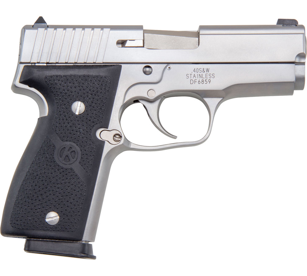 Kahr Arms K4043 K40 Elite 40S&W 3.5 6+1 Black Poly Grip Matte Stainless in.