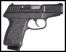Kel-Tec P11PKBLK P-11 9mm 3.1 10+1 Black Poly Grip Parkerized Finish in.