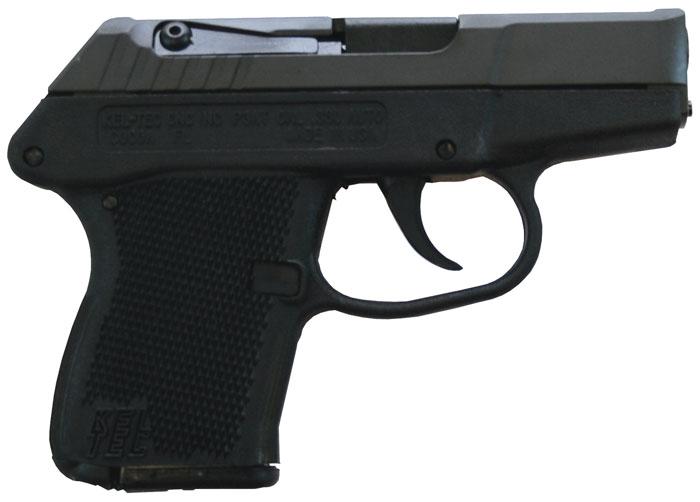 Kel-Tec P3ATPKBLK P-3AT 380 ACP Double 380 Automatic Colt Pistol (ACP) 2.7 6+1 Black Polymer Grip Black Parkerized in.