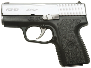 Kahr Arms PM4043 PM40 Std DAO 40S&W 3.1 5+1|6+1 Poly Grip Blk Poly Frame|SS Slide in.