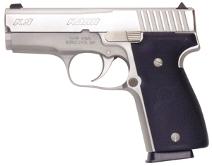 Kahr Arms K9098 K9 Elite DAO 9mm 3.5 7+1 Black Synthetic Grip Stainless in.