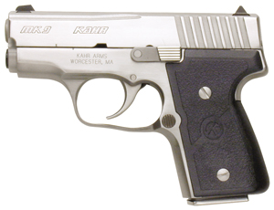 Kahr Arms M9098 MK9 Elite DAO 9mm 3 6+1|7+1 Textured Nylon Grip Stainless in.