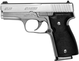 Kahr Arms K9093 K9 DAO 9mm 3.5 7+1 Black Poly Grip SS in.
