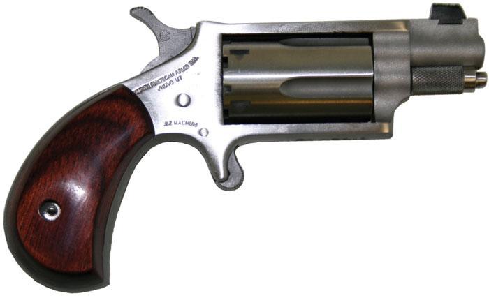 North American Arms .22LR Mini Revolver 1.125-inch with XS