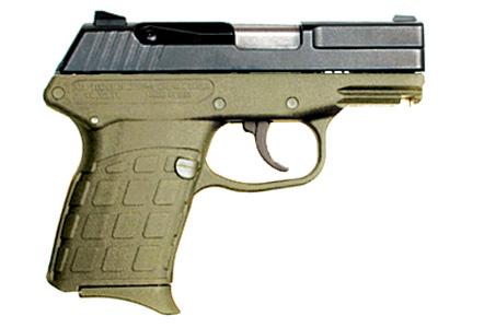 Kel-Tec PF-9 9mm 7rd BL Green