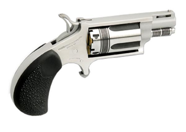 NAA NAA22MSTW 22 Magnum The Wasp Single 22 Winchester Magnum Rimfire (WMR) 1.1 5 Black Rubber Stainless in.