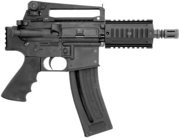 Chiappa M4-22 Pistol Black .22LR 6-inch 28rd