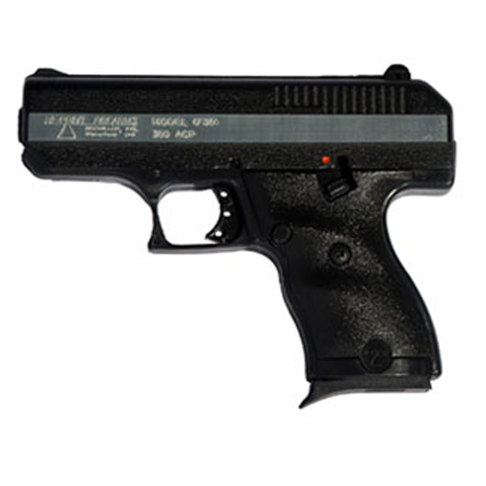 Hi-Point CF380COMP Compensated 380 ACP Double 380 Automatic Colt Pistol (ACP) 4 8+1|10+1 3-Dot Black Polymer Grip Black|Chrome in.