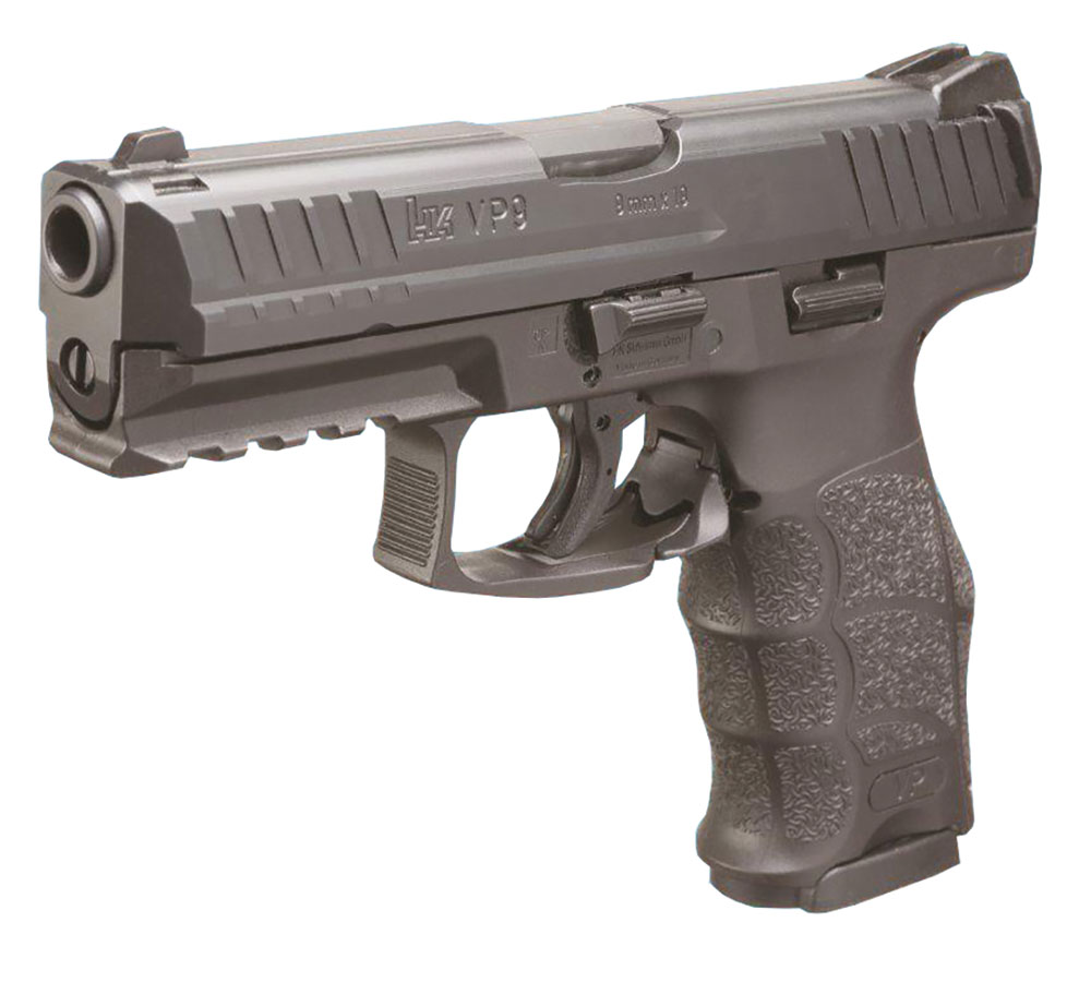 HK 700009LELA5 VP9 9mm *MA Compliant* 9mm Luger Double 4.09 10+1 Black Interchangeable Backstrap Grip Black Slide in.