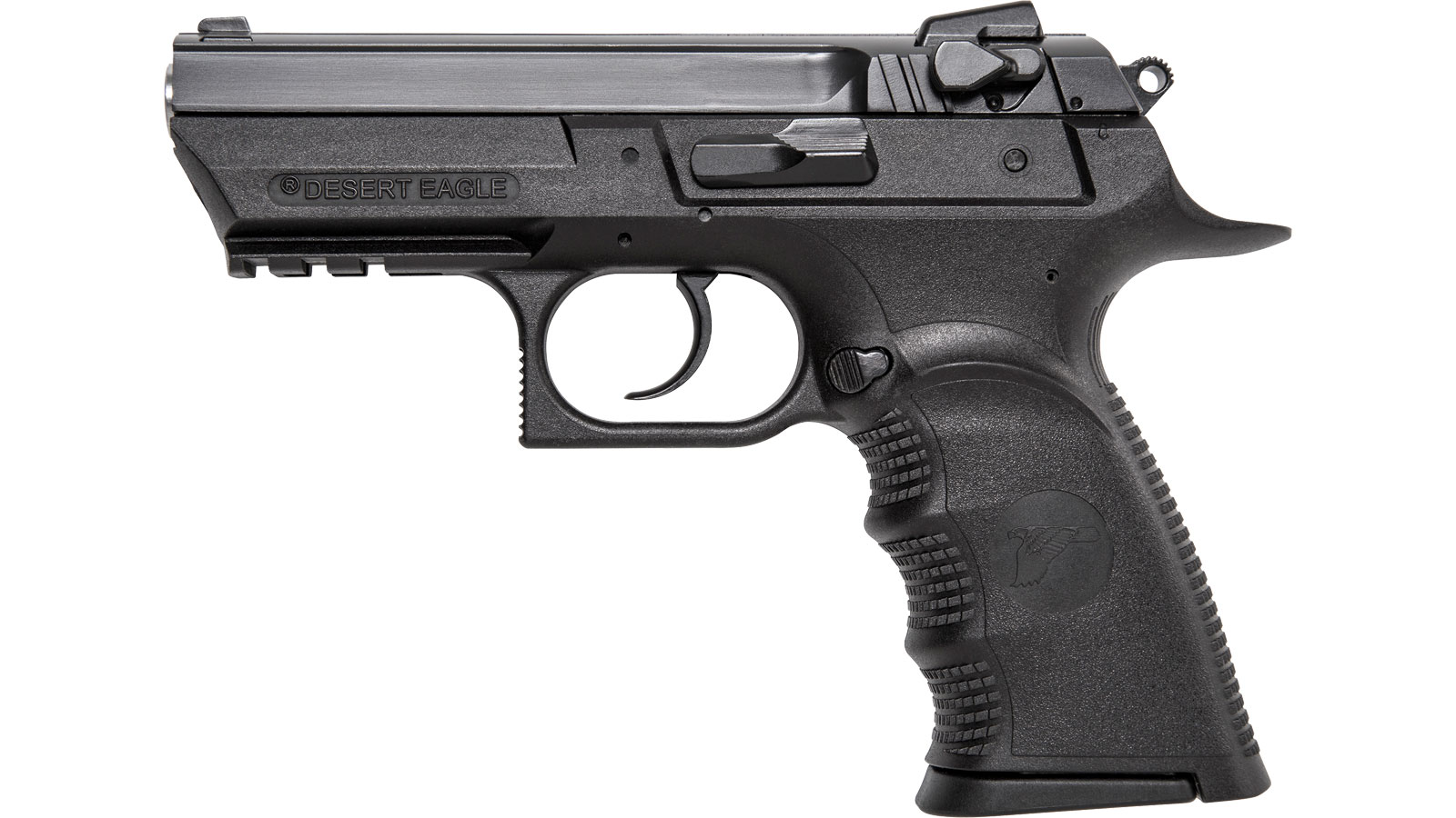 Magnum Research BE94133RSL Baby Desert Eagle III 40 Smith & Wesson (S&W) Single Double 3.8 12+1 Black Carbon Steel Slide in.