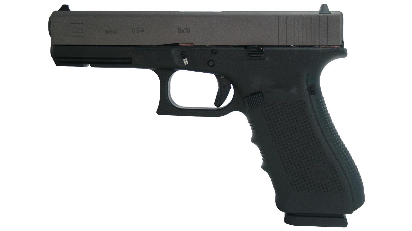 Glock G17 9mm Luger 4.48 in.  17+1 Black|tungsten