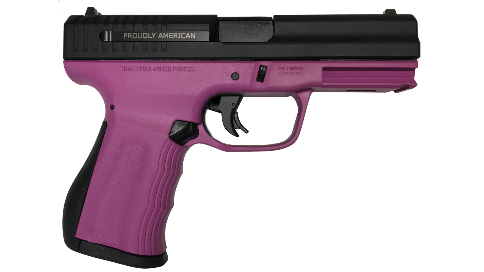 FMK Firearms 9C1 Gen 2 Raspberry 9MM 4-inch 14rd