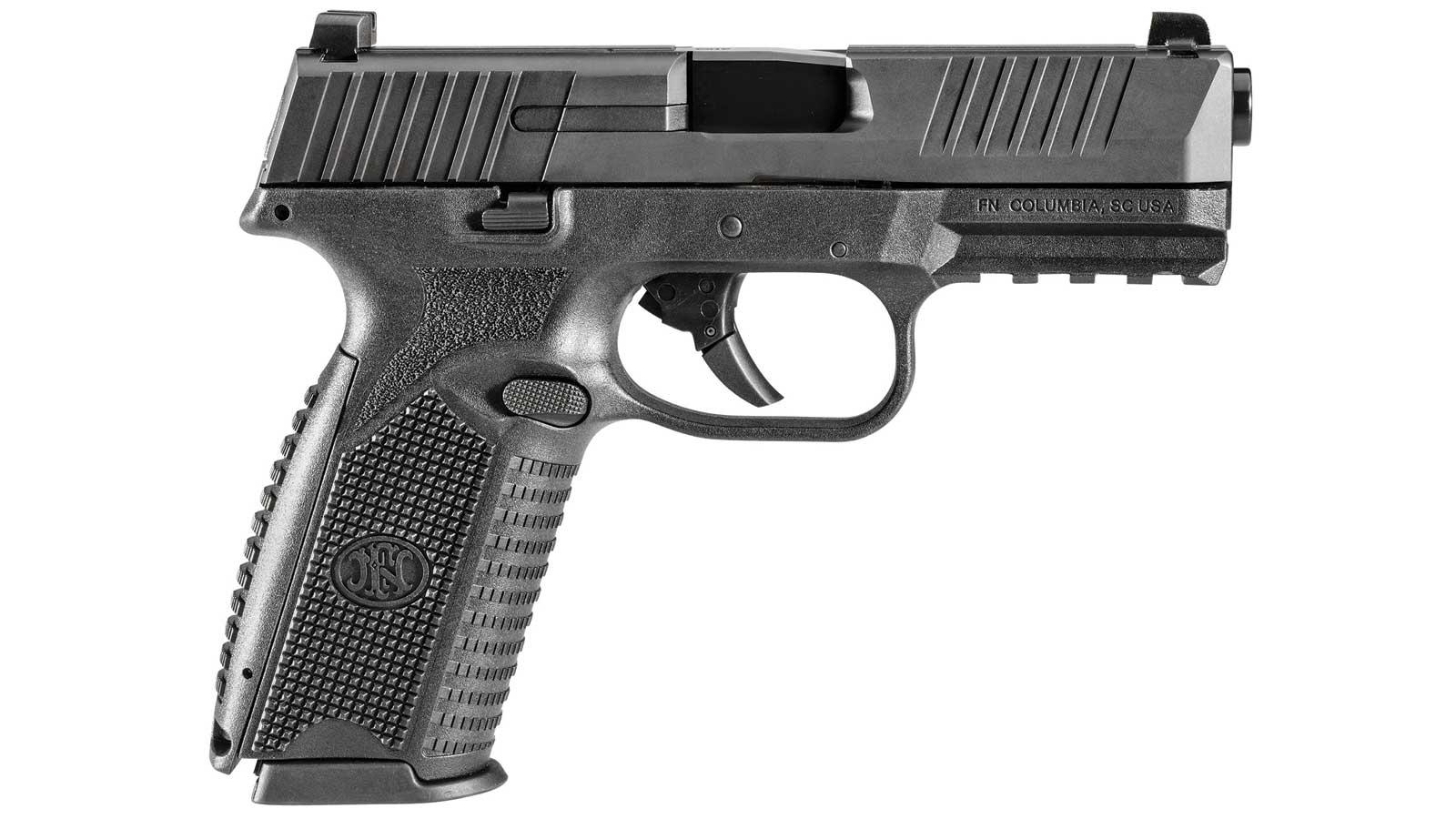 FN 66100003 FN 509 Double 9mm Luger 4 10+1 Black Interchangeable Backstrap Grip Black in.