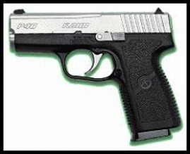 Kahr Arms KP4043 P40 Standard DAO 40S&W 3.5 6+1 Poly Grip Black Poly Frame SS in.