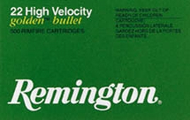 Remington Golden Bullet .22 Short 500rds