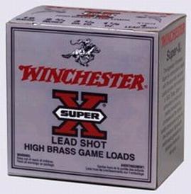 Winchester Ammo X205 Super-X High Brass Game 20 Gauge 2.75 1 oz 5 Shot 25 Bx| 10 Cs in.
