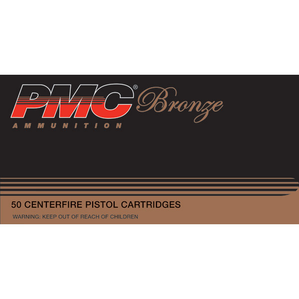 PMC 45B Bronze 45 Automatic Colt Pistol Jacketed Hollow Point 185 GR 50Box|20Cs