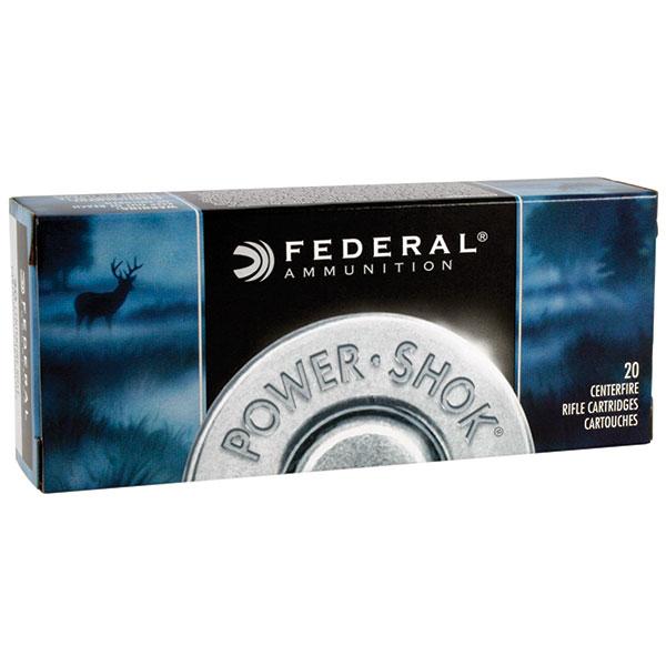 Federal 280B Power-Shok Rifle 280 Remington 150 GR Jacketed Soft Point 20 Bx| 10 Cs