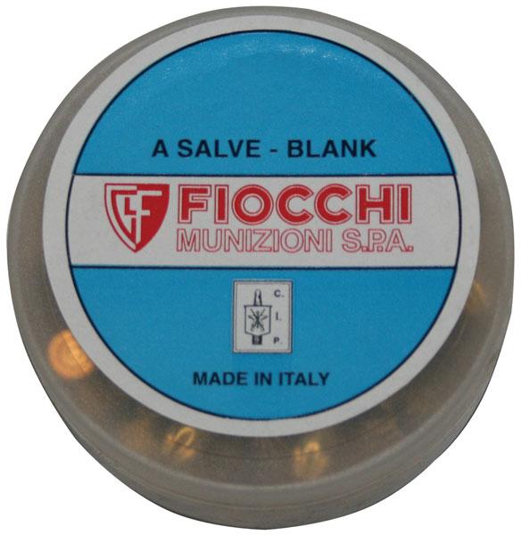 Fiocchi 38BLANK Handgun Blank 38 Rimmed  50 Bx| 20 Cs