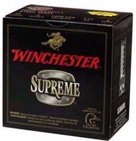 Winchester Ammo SSH1233 Supreme Hi-Velocity 12 Gauge 3 1-1|4 oz 3 Shot 25 Bx| 10 Cs in.