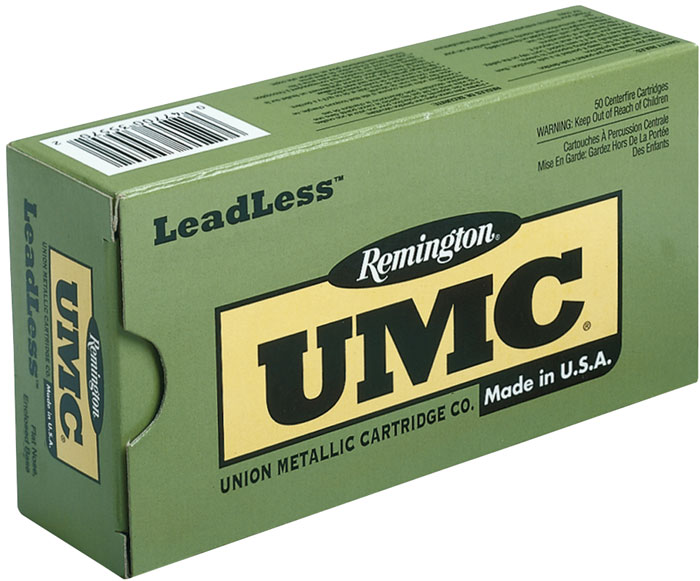 Remington Ammo LL40SW5 UMC 40 S&W Flat Nose Enclosed Base 180 GR 50Box|10Case