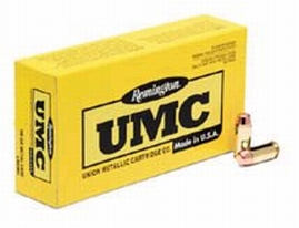 Remington Ammunition L40SW2 UMC 40 Smith & Wesson (S&W) 180 GR Jacketed Hollow Point 50 Bx| 10 Cs