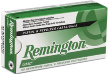Remington Ammunition L45AP1 UMC 45 ACP Metal Case 185 GR 50Box|10Case
