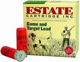 Estate Cartridge Estate Promotional 12 Ga, 2.75 in. , 1290 FPS, 1oz, 7.5 Shot, 250rd Case (10 Boxes of 25rd)