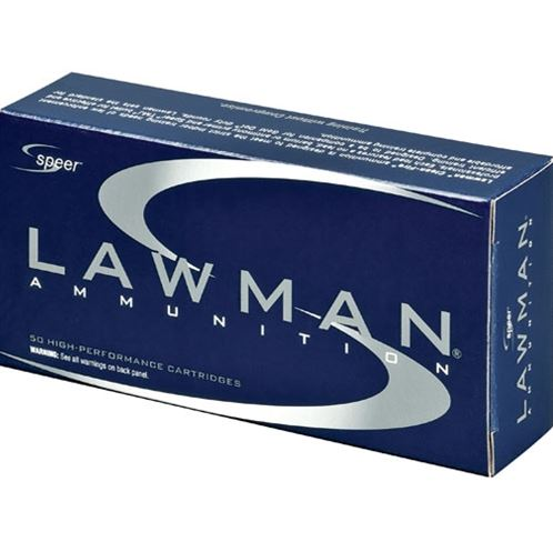 Speer Ammo 53824 Lawman Clean Fire 9mm Luger 124 GR Total Metal Jacket 50 Bx| 20 Cs