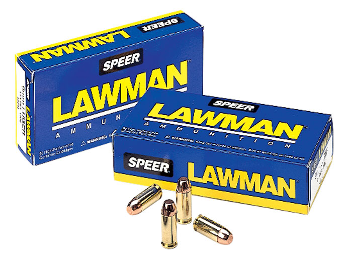 Speer Ammo 54232 Lawman Clean Fire 357 Sig 125 GR Total Metal Jacket 50 Bx| 20 Cs