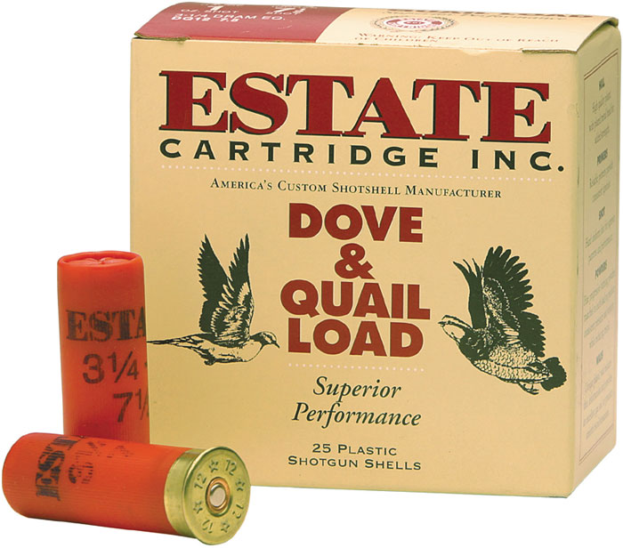 Estate HG166 Upland Hunting Loads 16 Ga 2.75 1 oz 6 Shot 25 Bx| 10 in.