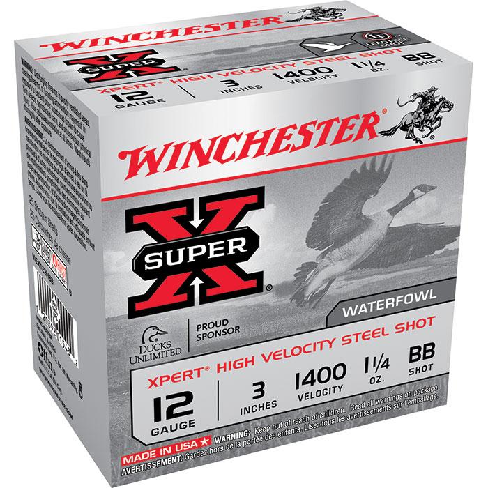 Winchester Ammo WEX123HBB Expert Hi-Velocity 12 Gauge 3 1-1|4 oz 25 Bx| 10 Cs in.