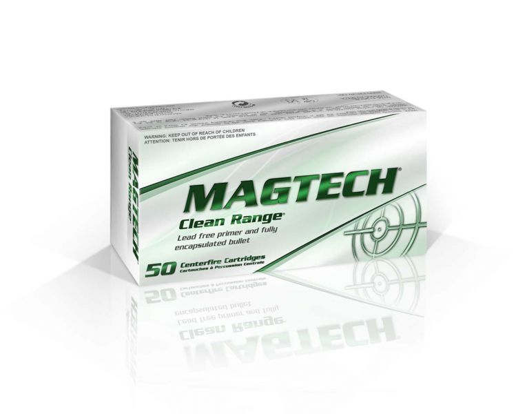 Magtech CR40A Clean Range 40 Smith & Wesson (S&W) 180 GR Encapsulated Bullet 50 Bx| 20 Cs