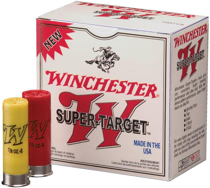 Winchester Ammo TRGT208 Super Target 20 Gauge 2.75 in.  7|8 oz 8 Shot 25 Bx| 10 Cs