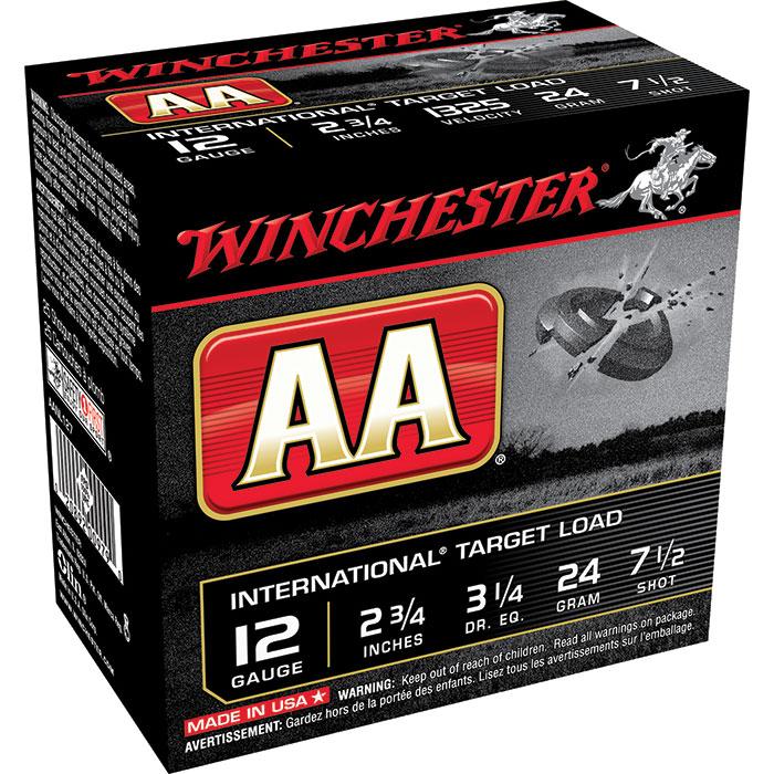 Winchester Ammo AANL127 AA Target Loads 12 Gauge 2.75 in.  7|8 oz 7.5 Shot 25 Bx| 10