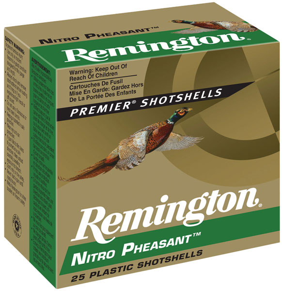 Rem NP205 Nitro Pheasant Loads 20 ga 2.75 1 oz 5 Shot 25Box|10Case in.