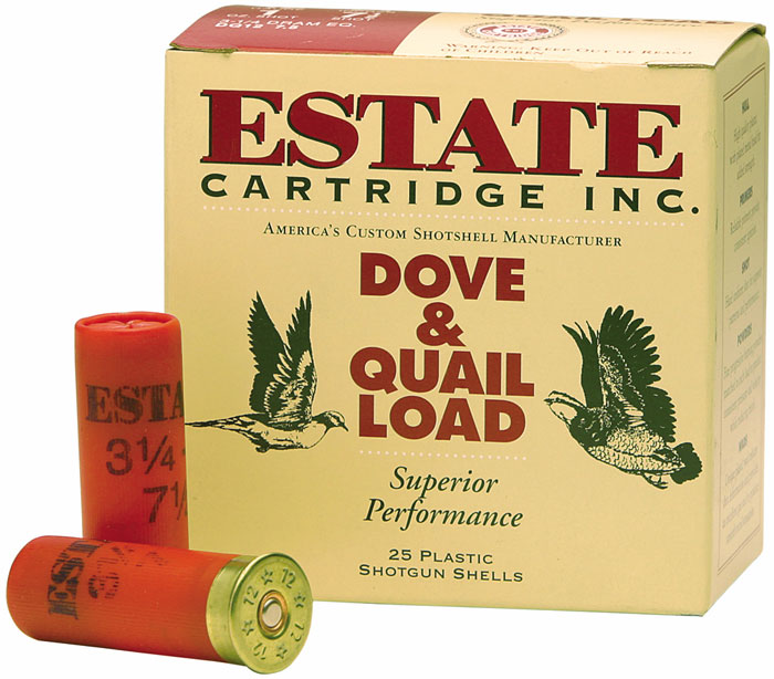 Estate Cartridge High Velocity Hunting Load 410 Ga, 2-1|2 in. , 6 Shot, 250rd|Case (10 Boxes of 25rd)