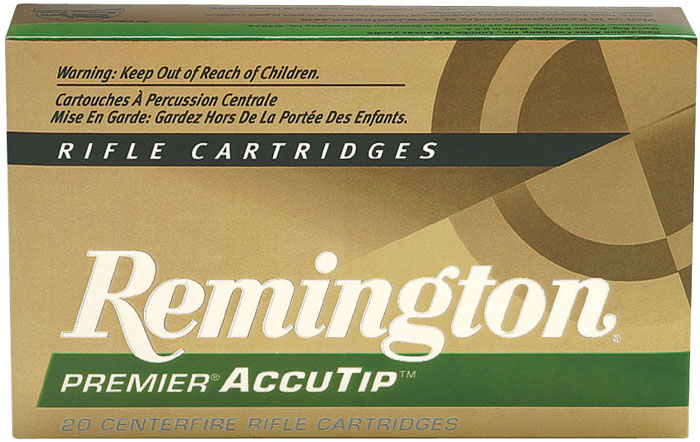 Remington Ammunition PRA7MMRA Premier 7mm Rem Mag AccuTip 140 GR 20Box|10Case