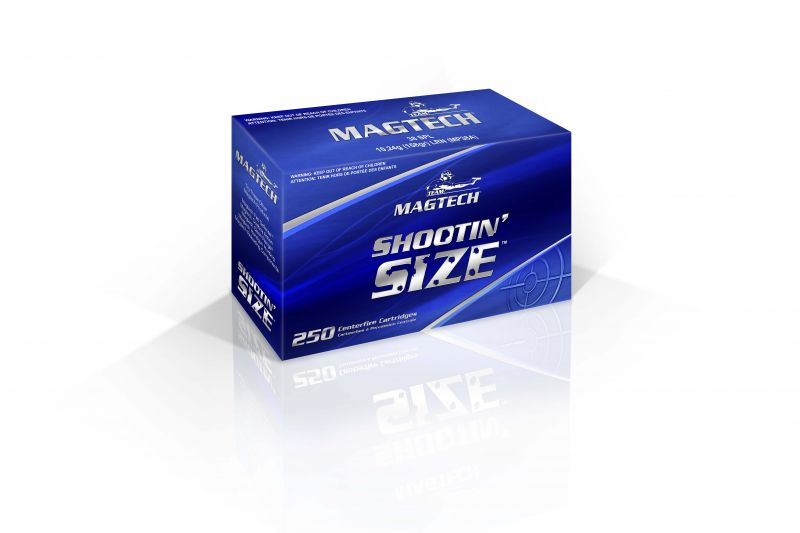 Magtech MP357A Sport Shooting 357 Mag 158 GR Semi-Jacketed Soft Point 250 Bx| 4 Cs
