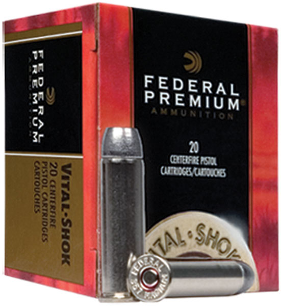 Federal P460XB1 Premium Handgun 460 Smith & Wesson Magnum 275 GR Barnes Expander 20 Bx| 10 Cs