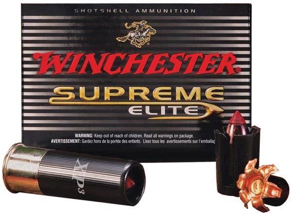 Winchester Ammo SXP12 Supreme Elite XP3 12 Gauge 2.75 300 GR Slug Shot 5 Bx| 20 Cs in.