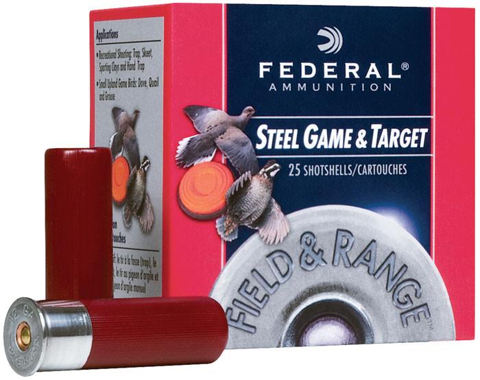 Federal FRS207 Target Field & Range 20 Gauge 2.75 3|4 oz 7 Shot 25 Bx| 10 Cs in.