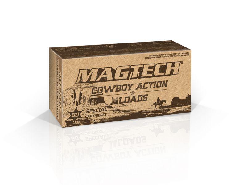 Magtech 38U Cowboy Action 38 Special 125 GR LFN 50 Bx| 20 Cs