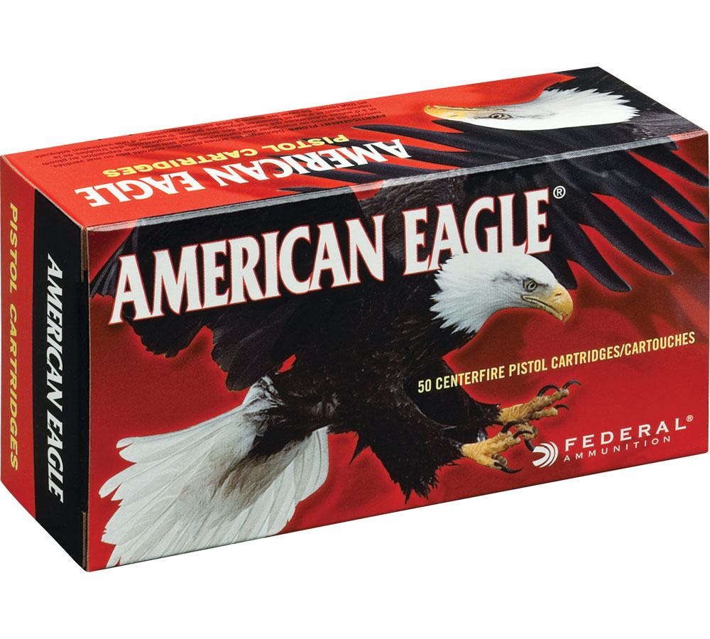 Federal AE38S3 American Eagle Handgun 38 Super 115 GR Jacketed Hollow Point 50 Bx| 20 Cs