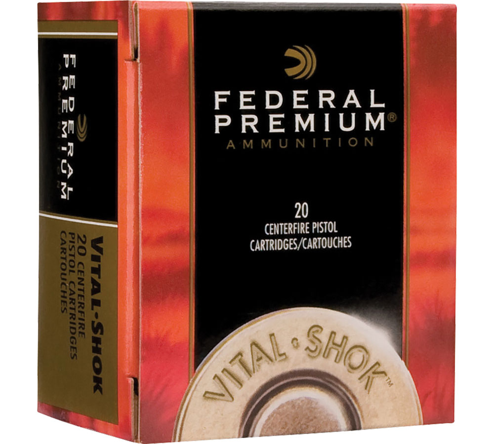 Federal P357SA Premium Handgun 357 Magnum 180 GR Swift A-Frame 20 Bx| 10 Cs
