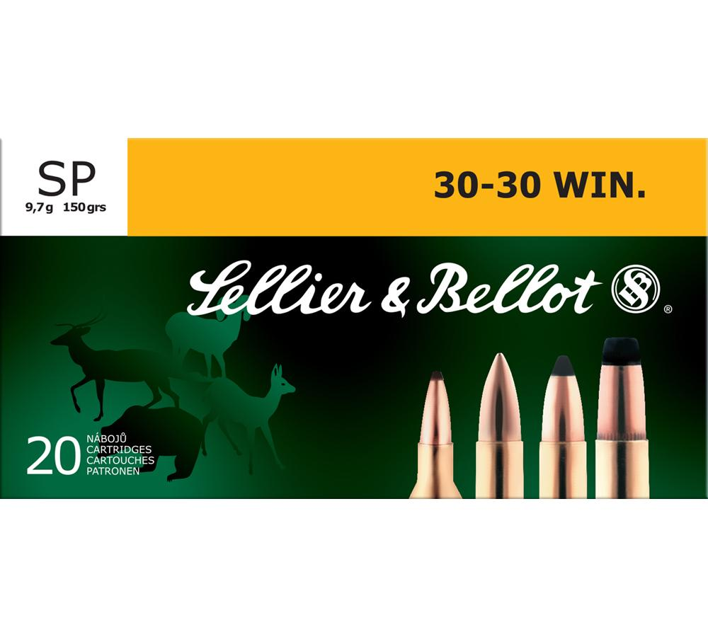 Sellier & Bellot SB3030A Rifle 30-30 Win 150 GR Soft Point 20 Bx| 25 Cs