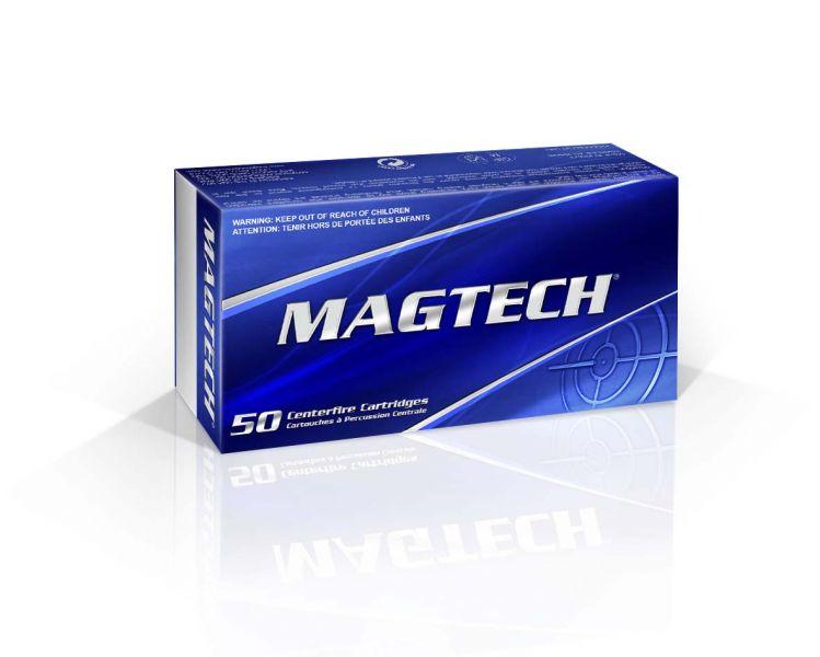 Magtech 357Q Sport Shooting 357 Magnum 125 GR Full Metal Jacket Flat Point 50 Bx  20 Cs