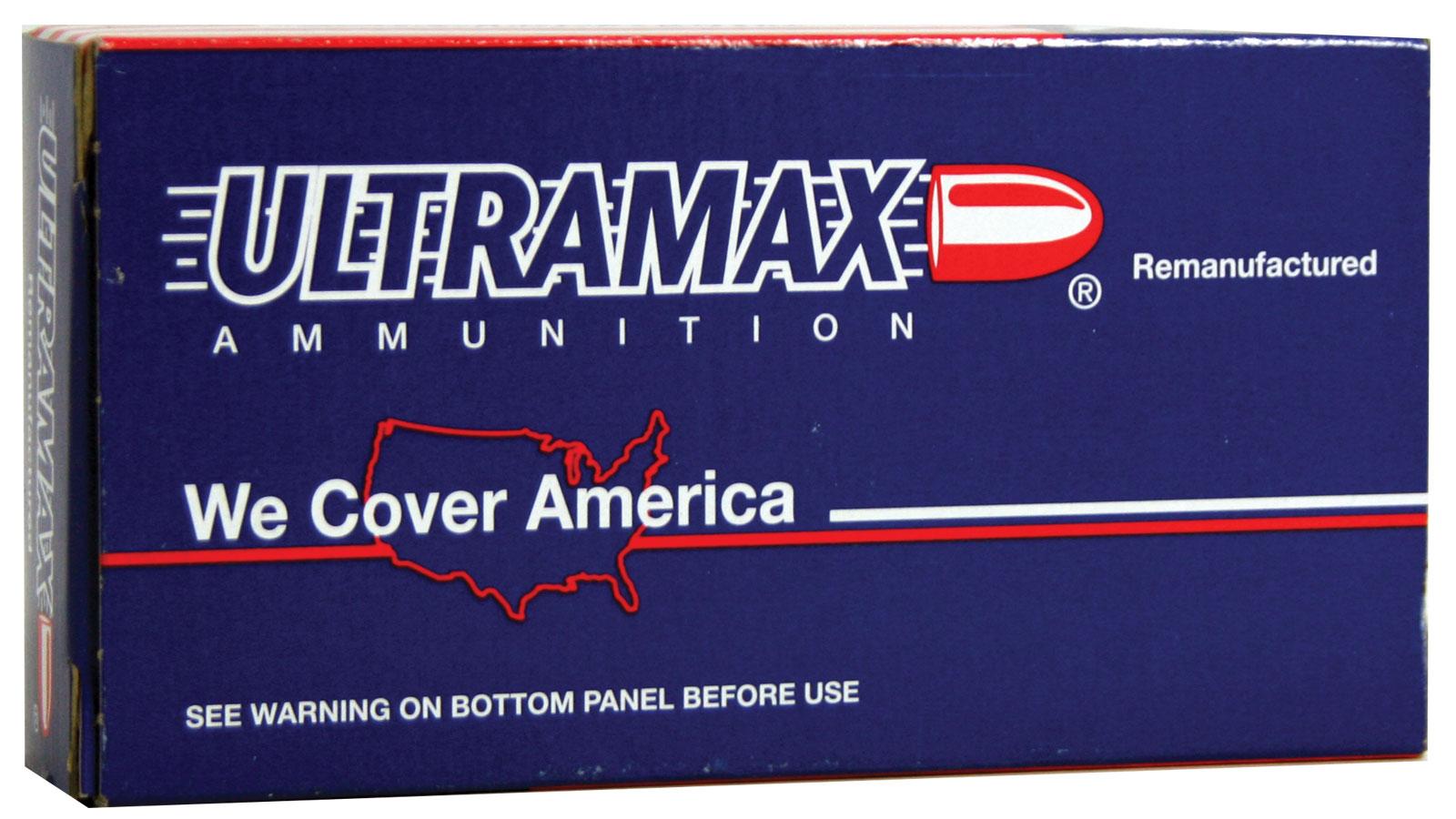 Ultramax 223R42 223 Remington Remanufactured 55 Grains, Full Metal Jacket, Per 20