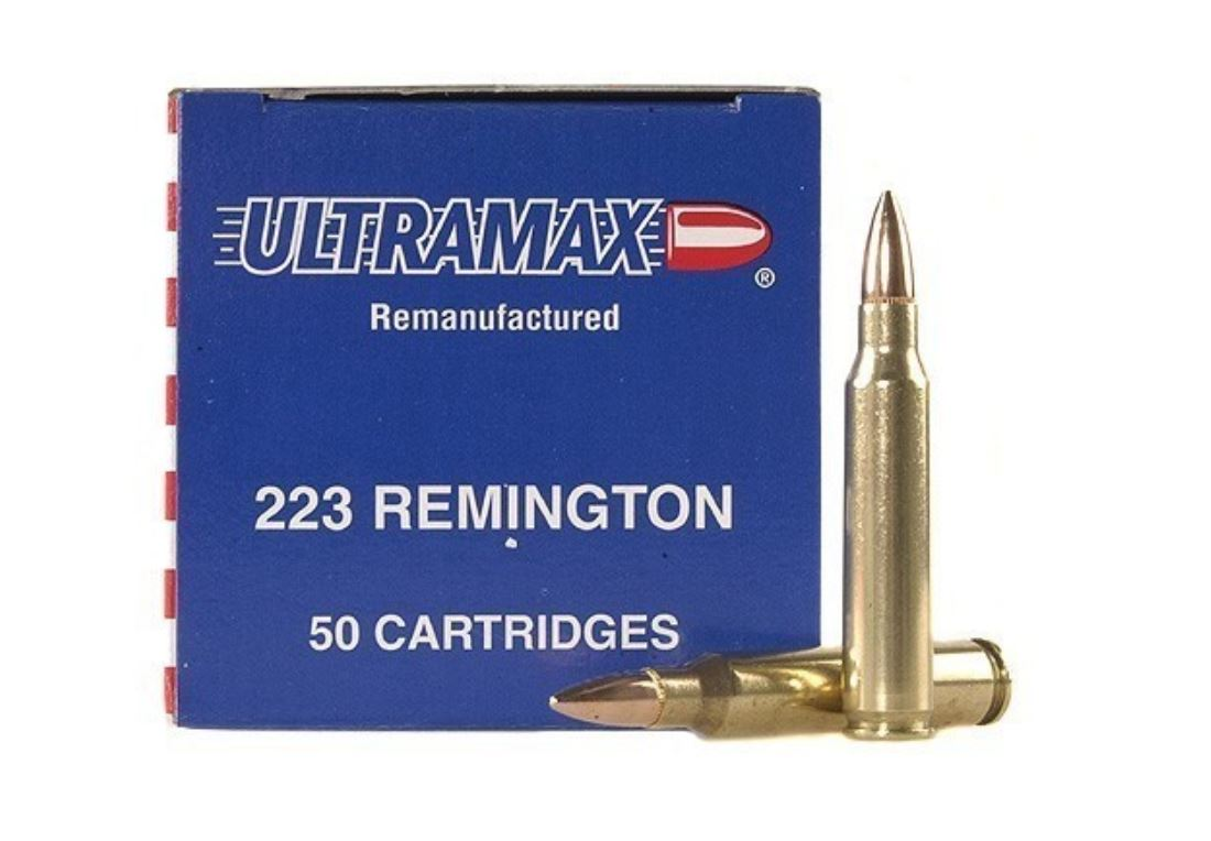 Ultramax Remanufactured, .223 Remington, Nosler Ballistic Tip, 40 Grain, 50 Rounds